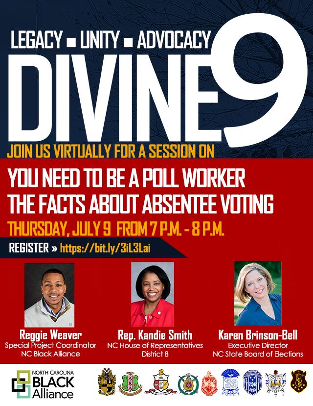 Divine Nine July Event