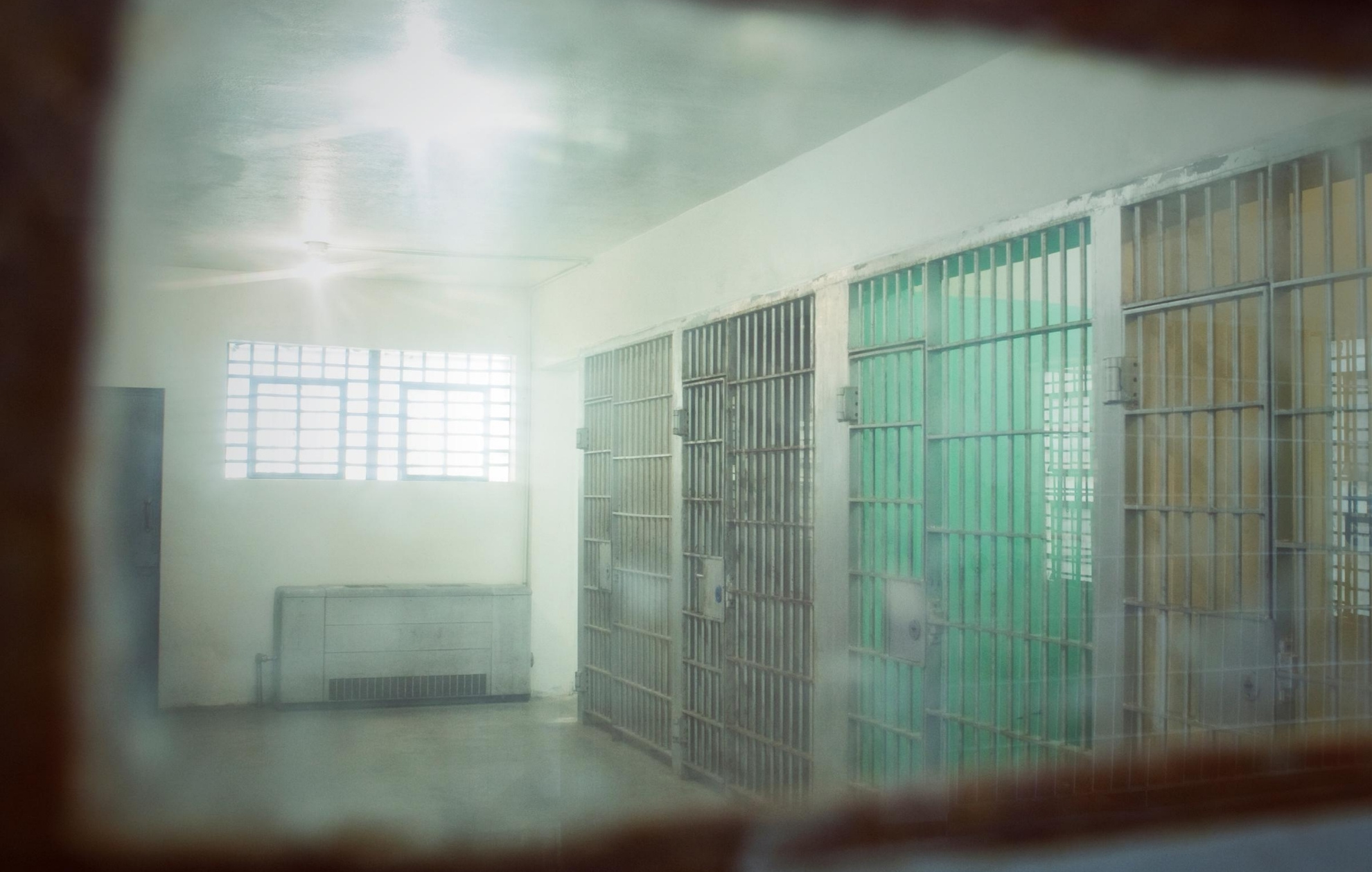 image of prison cells